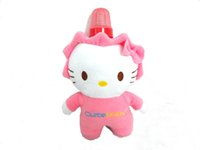Feed Bag - Baby Milk Bottle Fleece Covers Keep Warm Holders Plush Animal Shape Toys PortableThermal Feeding Nursing Bags Baby Products PINK