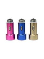 Wholesale Metal Safety Hammer Dual USB Car Charger A with Ce RoHS