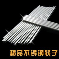Wholesale Factory outlet stainless steel chopsticks supply CM long stainless steel chopsticks