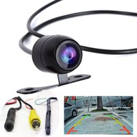 car front view camera - 2in1 New Car Rear camera Forward Back View CCD Degrees Backup Side Front Parking Camera CAL_00F