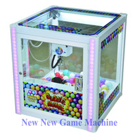 amusement vending machines - 2016 New Children Amusement Equipment Arcade Indoor Coin Operated Games Gift Toy Vending Mini Cranes Claw Machine For Kids