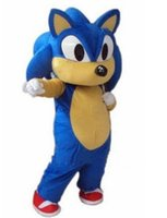 Wholesale Factory direct sale Halloween costume party costumes Sonic the Hedgehog Mascot costume Sonic Mascot costume
