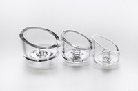 air standard - 1 mm Or mm Thick Quartz Carb Cap With One Air Hole For Standard mm Bowl Dia Banger Nail