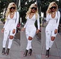 Cheap Ladies White Stretch Jeans   Free Shipping Ladies White ...