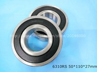 Wholesale 6310RS Piece bearing chrome steel deep groove bearing RS mm