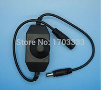 Wholesale 100 DC V V A Light Dimmer Adjustable Controller Single Color LED flexible strip
