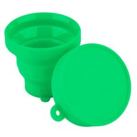 Wholesale Top Quality Portable Silicone Retractable Folding Cup Telescopic Collapsible Outdoor Bathing tool Hot Selling