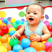 ball pit tent play - 2016 packages mail foldable baby play ball pit dot small tent interior ocean ball pool infant education toys