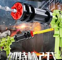 Wholesale New crystal soft bullet gun water bomb dual purpose super toy gun