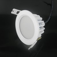 Wholesale 2pcs Driverless w w w w w w LED Downlight AC85 V LM W Bathroom IP65 Waterproof