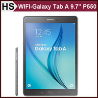 Wholesale Original Samsung GALAXY Tab A quot P550 Refurbished SM P550 GB RAM GB ROM Quad Core MP Camera Android Tablet Free DHL