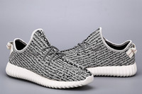 Wholesale quot turtle dove quot Boost Running Shoes Footwear Sneakers Men And Women Kanye West milan Sport Shoes
