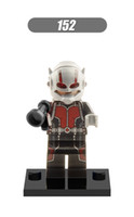 ant toy - XH Building Blocks Sets Super Heroes Avengers ANT MAN MiniFigures Assemble Star Wars Building Bricks Action Model Mini Figures Kids Toys