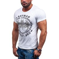 amazon men shirts - Fashion leisure For a new Amazon foreign trade letters on behalf of modal cotton T shirt T51
