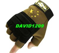 Wholesale New Hot Sale Blackhawk Military Gloves Airsoftsports Tactical Combat Hunting Camping Gloves Half Finger Mittens Gym