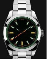 automatic manual - gift good Wristwatches with Green Original box manual master Fashion new Automatic men watch Luxury sports Stainless steel Men s Watches