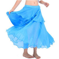 Wholesale Egypt Bollywood Colors Belly Dancing Skirts Swing Skirt Belly Dance Costumes Professional Costume India Bellydance Tribal Pant