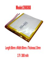 Wholesale Lithium Li polymer rechargeable Battery Li Po ion V mAh for Tablet PC Mobile Power