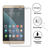 Wholesale Qiaogle Anti explosion Tempered Glass Screen Protector Ultra Hard For Huawei MediaPad X1 inch Premium Screen Protector