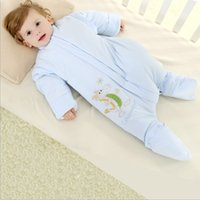 Wholesale 2016 Hot Baby Cute Rompers Newborn Baby Girl and Boy Clothes One Pieces Thick Warm Winter Cartoon Clothing Sleeping Bags Toddlers Romper