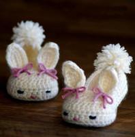 ballet house - Crochet Baby shoes Ballet Flats Baby shoes Custom baby shoes fashion baby Round Bunny House Slippers