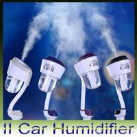 aroma apple - Nanum V II Car Plug Air Humidifier Vehicular essential oil ultrasonic humidifier Aroma mist car fragrance Diffuser for iphone ipad Samsung