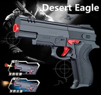 Wholesale Desert Eagle Nerf airsoft gun Airgun Soft Bullet Gun Paintball Pistol Toy CS Game Shooting Water Crystal Gun