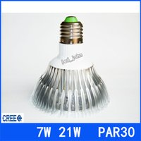 Wholesale DHL Warranty Years E27 E26 Led Spotlight PAR30 W W LED Bulbs Lamp Warm Pure Cool White AC V V UL DLC
