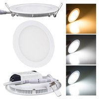 Wholesale high power dimmable ip44 ultra slim recessed w w w w w w w led round panel light driver only