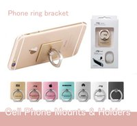Wholesale 360 Degree Phone Holder For Desk Rotation Ring Opening Bracket Suitable For All Phones And Tablets Small Convenience Dither Glod Silver