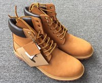 authentic cowboy boots - Authentic Timber Boots Brand Snow Boots New Men Waterproof Ankle Boots Timber Mens Work Hiking Shoes Outdoor Winter Snow Boots multi colors