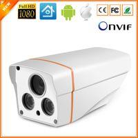 Wholesale 720P P P Surveillance Camera IP Outdoor IP66 Bullet Camera CCTV ONVIF With Free Bracket ARRAY LED IR Cut Filter