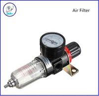 air filter material - Dental Material Pneumatic Air Filter Regulator Moisture Trap Pressure Gauge AFR Compressors set