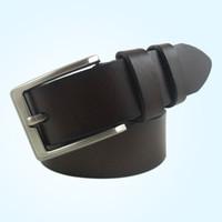 belt buckel - High Fashion Man Waist Belts Popular Top Layer Leather Jean Belt Needle Buckel Cowhide Waistband CH900018