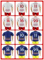 Wholesale Hot Sell New York Red Bull Uniforms Kit Soccer Jersey Henry sam KLJESTAN Tim Cahill White Home Blue Away Jerseys