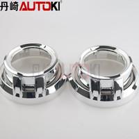 Wholesale hid bi xenon projector lens shroud high temp resistant Caynne A for car headlight Koito Q5 Hella projector lens