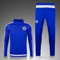 Wholesale 2016 Chelsea Training Suit Chandal Survetement Tracksuits Sportswear pants soccer jerseys Uniforms shirts