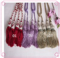 Wholesale The curtain hanging ball curtains blinds ball bandage fringed curtains accessories