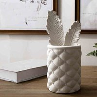 art contract - Zakka office furnishing articles contemporary and contracted fashion household adornment ornament Pen bottle or vase ceramic creative arts a