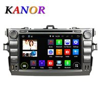 Wholesale Quad Core Android Car DVD Player Toyota Corolla GPS Autoradio Audio Stereo WIFI Map