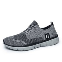 best casual boots for men - Fashion Black Casual Shoes Mens Footwear Boots Best Lace Up Mesh Sport Shoes Running Sneakers Summer Flat Casual Shoes for Men km8625