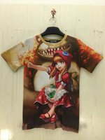 asia t shirt - 2016 LOL D T Shirts for men O Neck Men t shirt brands Tops Short sleeves Tshirts asia Size by DHL