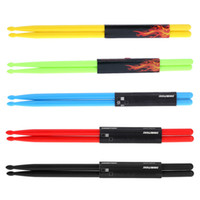 Wholesale Druml Accessories A Drumsticks Drum Sticks Nylon Material Lightweight Design for Drum Set Colors for Choosing