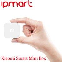 Wholesale Xiaomi Smart Mini Box Set Top Box MT8685 Quad Core GB DDR3 GB eMMC Android P H GHz GHz Mi Small TV Box