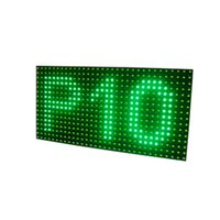 advertising board products - Hot products V P10 LED panel display module semioutdoor mm advertising message board signage moving signs