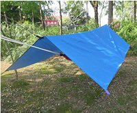 Wholesale 2016 New Sunshade Rain Tarp for Camping Tent Rain Fly Rain Tarp Shelter Waterproof M X M