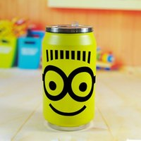 american thermos - Creative American little yellow people insulation Cup Despicable Me thermos birthday present around animation
