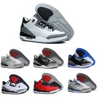 Cheap Original retro China jordan 3 men basketball shoes online cheapest best quality authentic sneakers US size 8-13 free shipping with box