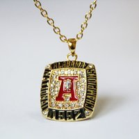 alabama necklace for men - 2016 New Punk Style Sport Jewelry Alabama Tide Championship Necklace For Women Men Wedding Necklaces