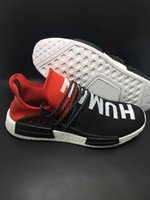 trainers - 2016 new NMD Human Race Runner Boost Pharrell s Runners and Trainers NMD Boost Running Shoes Hu race Williams Pharrell x White Red Yellow